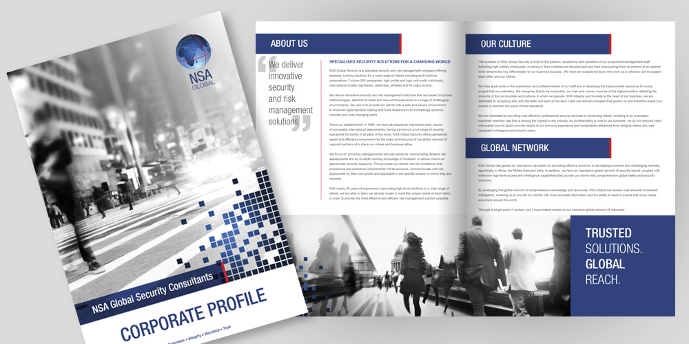 Corporate Profile Design and Printing AlienNation
