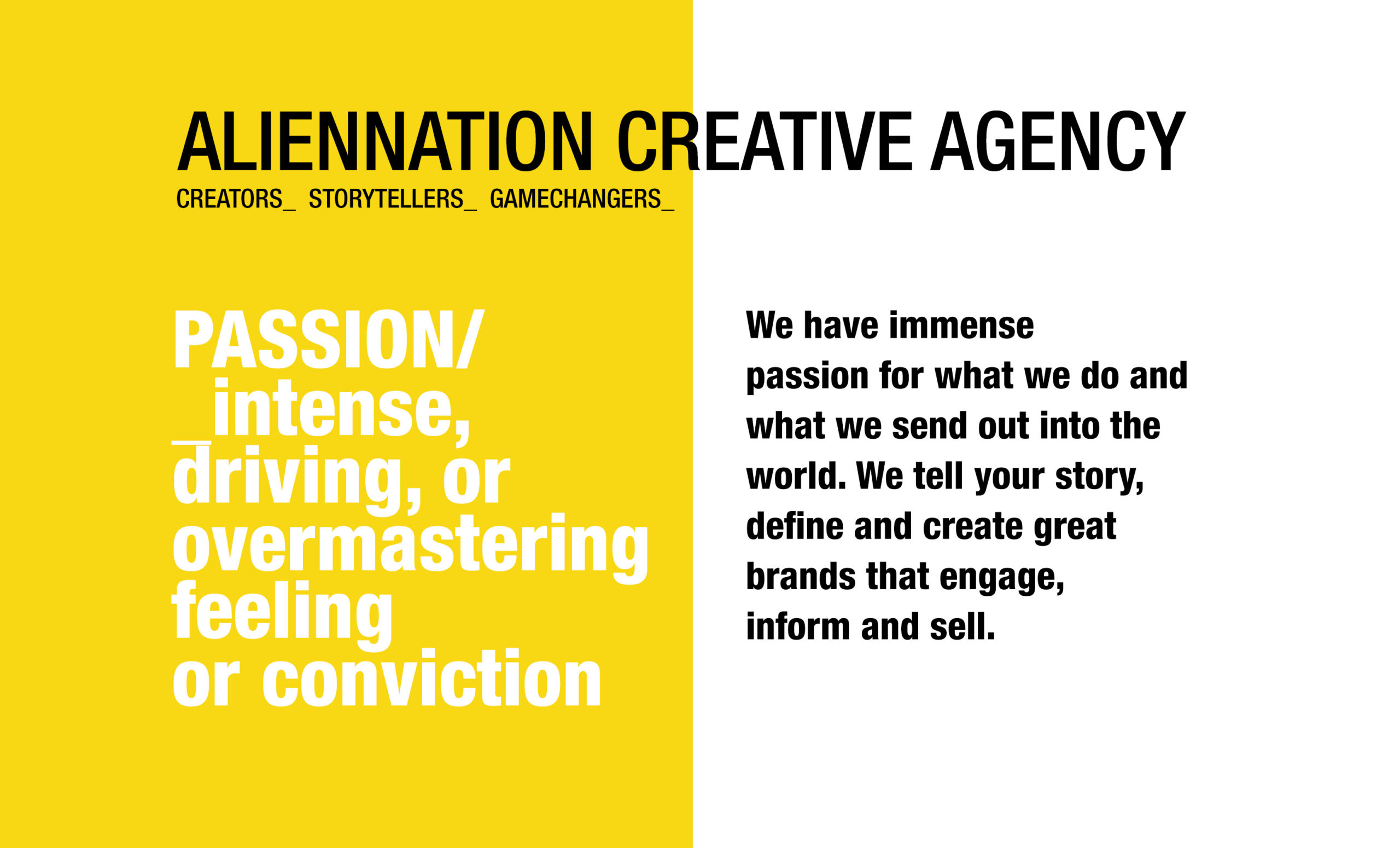 Aliennation Creative Agency South Africa