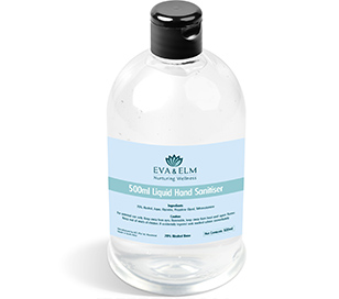 500ml Liquid Hand Sanitiser Bottles Bulk
